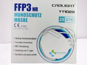 Mascarillas FFP3 NR